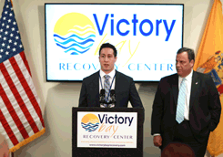 Victory Bay Recovery Center AJ Ribbon Cutting