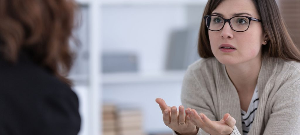 patient is taking part of a dialectical behavior therapy program