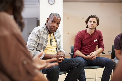 people take part in a motivational interviewing program